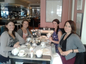 Delicious times with my London Lovelies - Catherine, Sarah and Kate.