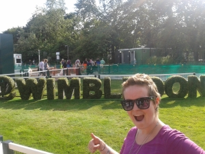Finally made it to the historical Wimbledon! July, 2014