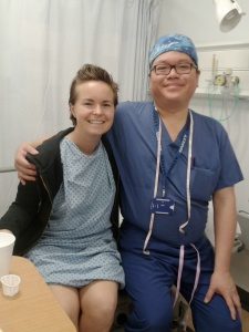 This surgical magician did four of the five surgeries i have had since I started my cancer journey.